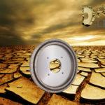 Segmented dry squaring wheel for roughing
