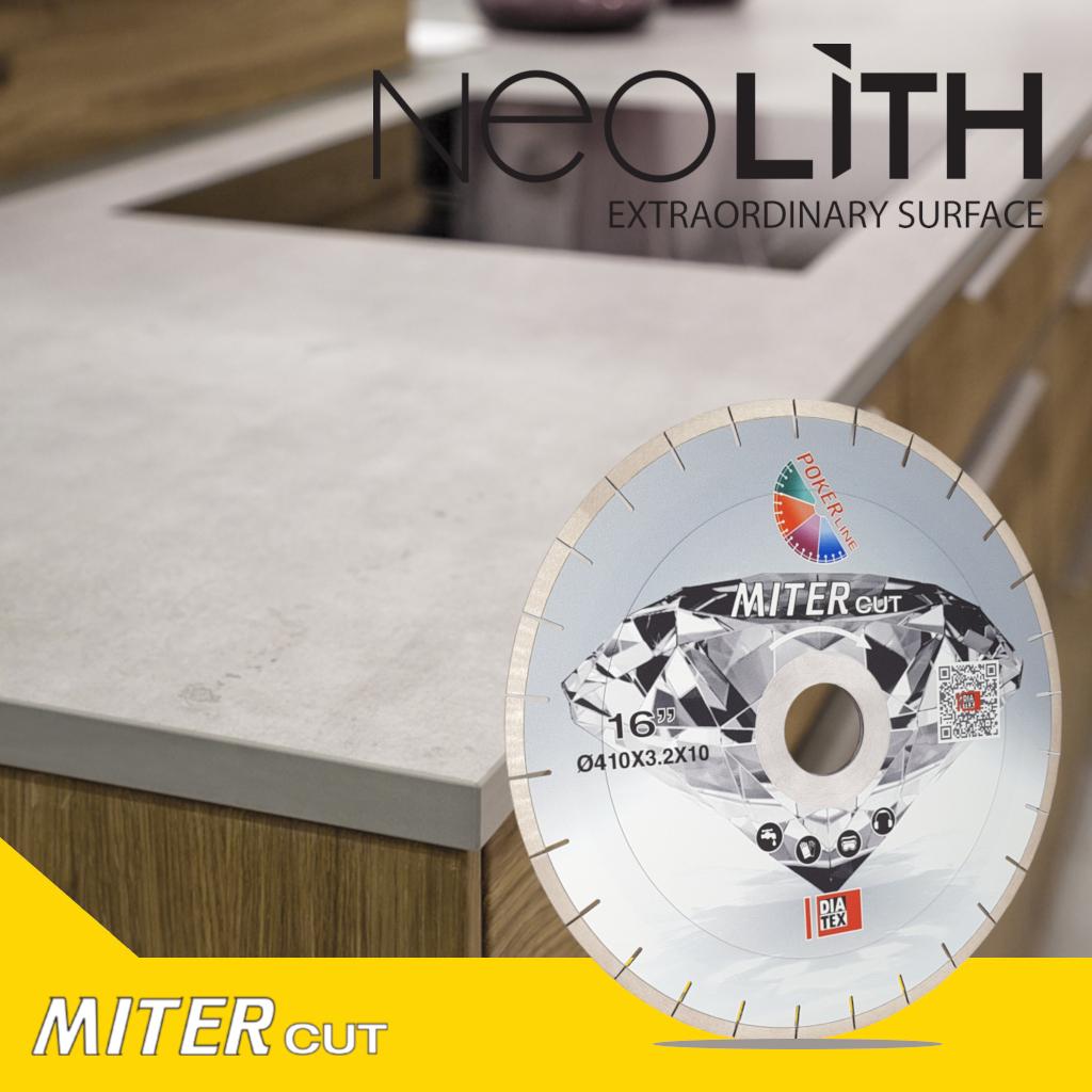 MITERcut NEOLITH disco