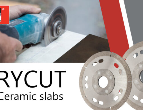 DRYCUT – Dischi per il taglio a secco di lastre ceramiche
