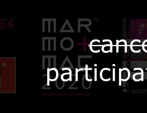 MARMOMAC 2020 – Annullata Partecipazione