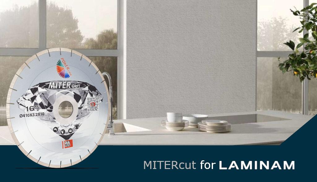 MITERcut for LAMINAM