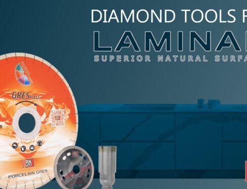 Utensili diamantati per lastre LAMINAM